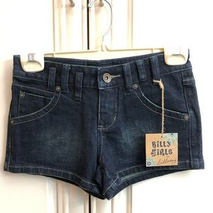 🎲 2/$35 NWT Billabong girls denim shorts